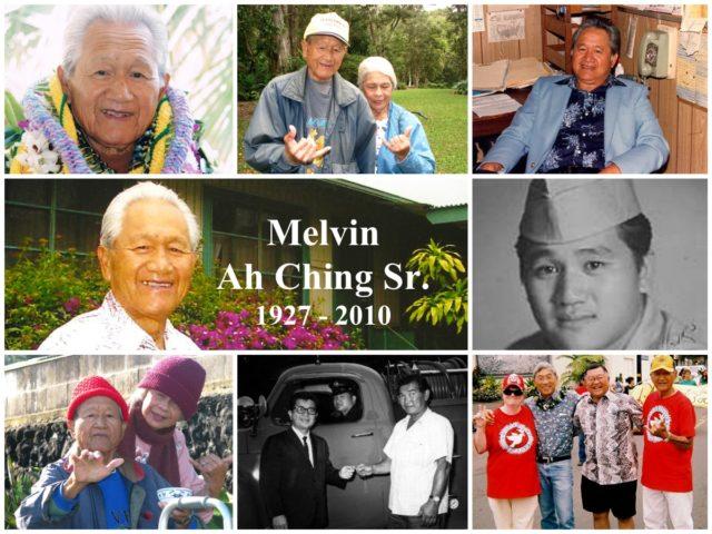 Mr. Melvin Ah Ching Sr.