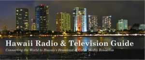 Hawaii Radio & Television Guide Banner