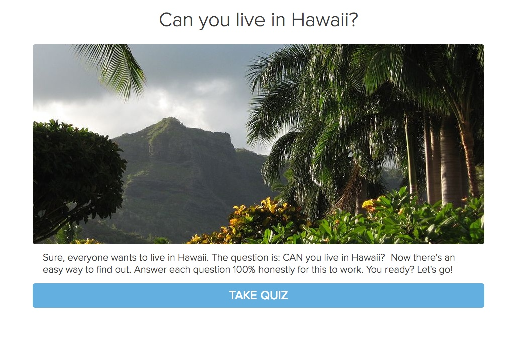 Can You Live in Hawaii
