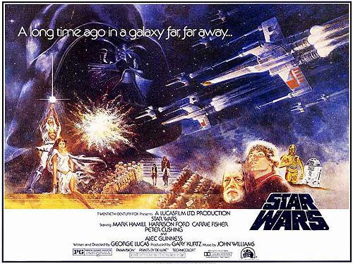 Star Wars poster 1977