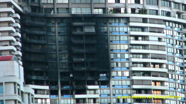 Burned Out Marco Polo Condo