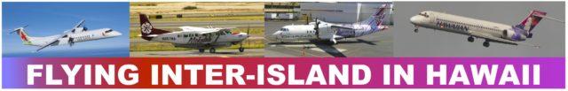 Flying Inter-island in Hawaii banner