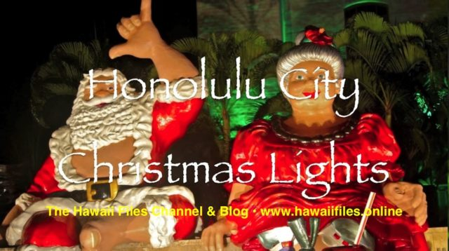 The Hawaii Files Channel Merry Christmas video