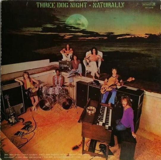 Three Dog Night Naturally album cover