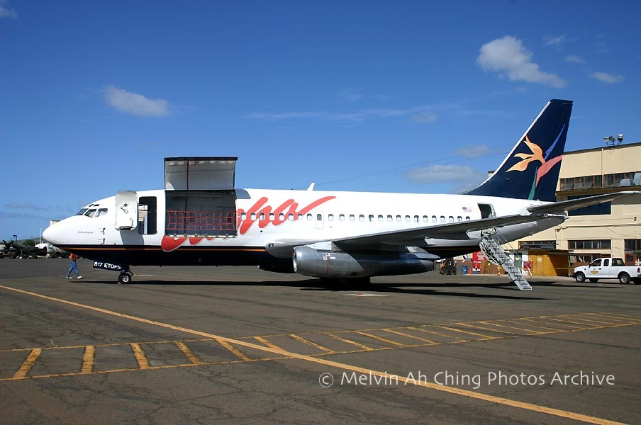 Aloha Airlines 737 jet freighter