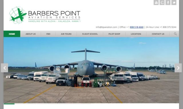 Barbers Point Aviation Webpage