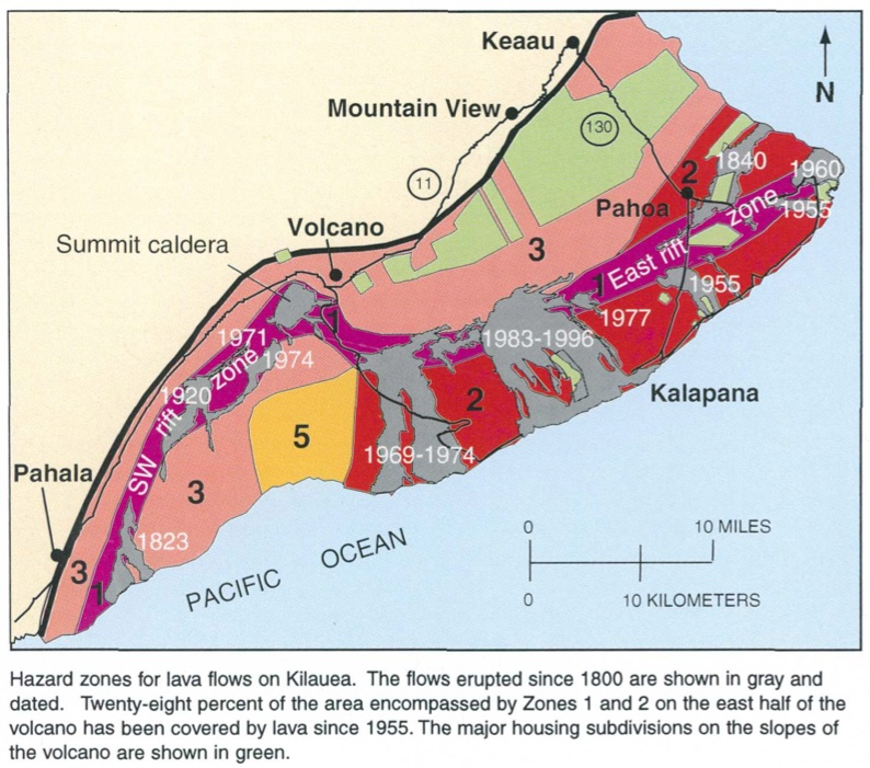 Kilauea's East Rift Zone