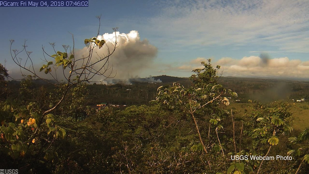 USGS Kapoho Webcam