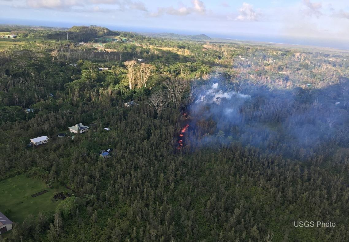 Leilani Estates Lava Fissure