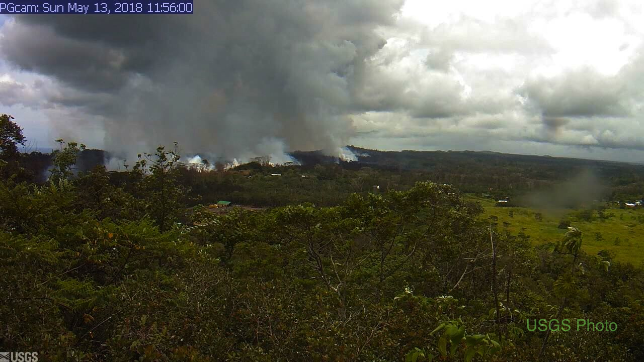 USGS Kapoho webcam image