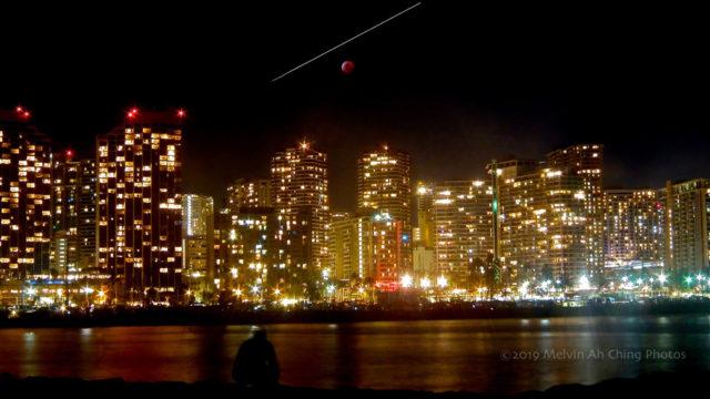 Lunar eclipse Honolulu HI