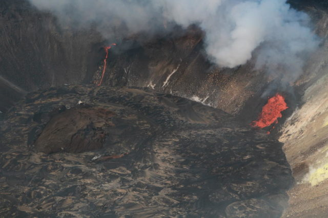 Kilauea Volcano Eruption 7-22-20