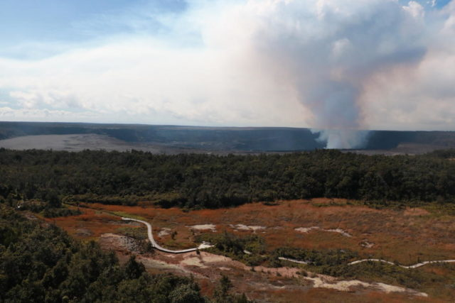 Kilauea Volcano Eruption 12-22-20