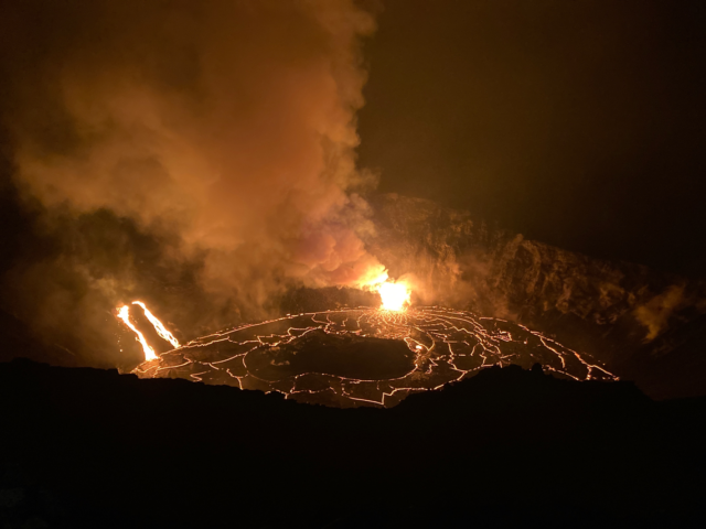 Kilauea Eruption 12-23-20