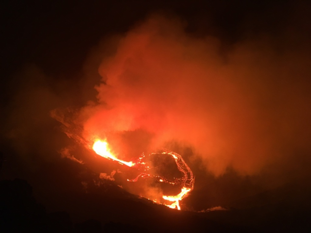 Kilauea Volcano Eruption 12-20-20
