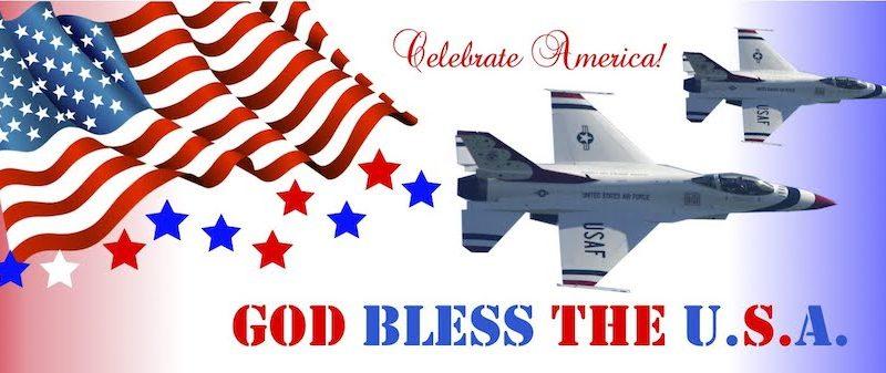 Celebrate America - God Bless the USA