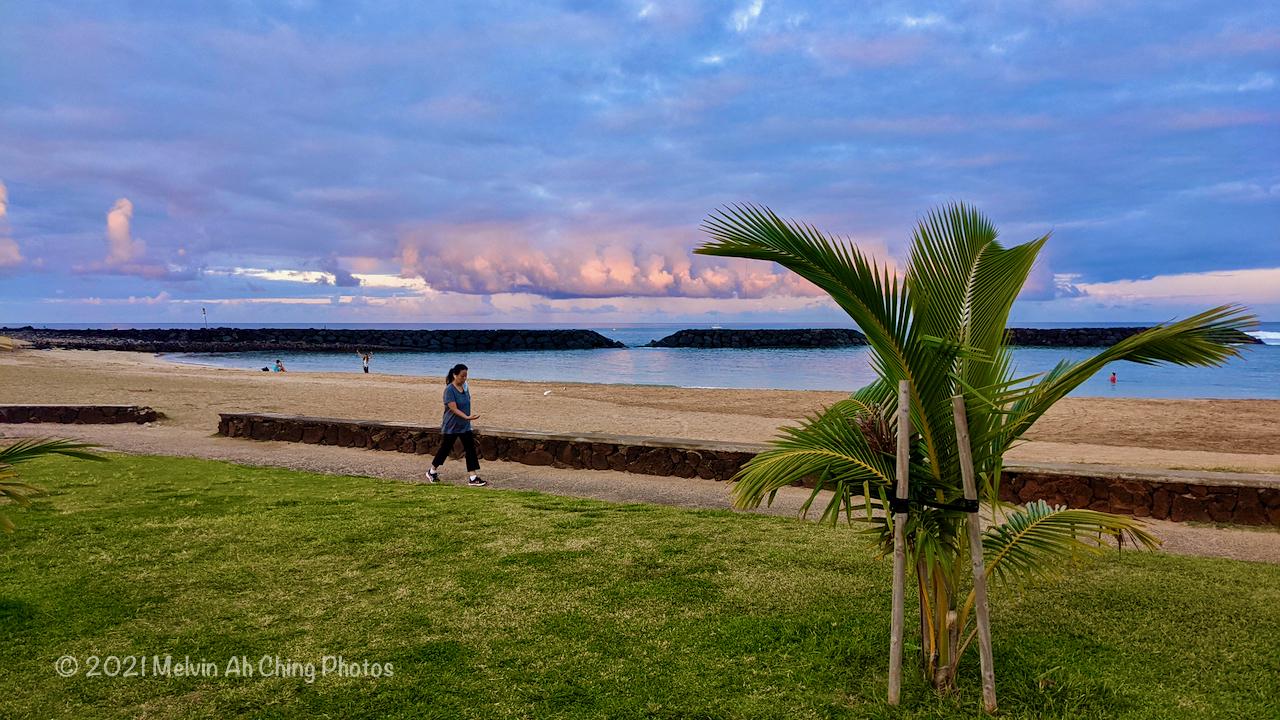 Magic Island, Ala Moana Park, Honolulu HI